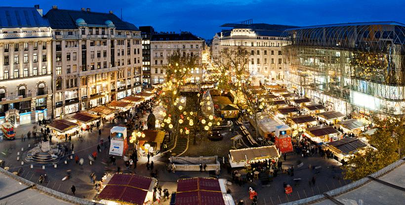 Mercado de Natal em Budapeste - Hungria