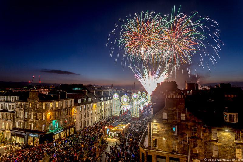 Mercados de Natal na Europa - Edimburgo - Escócia