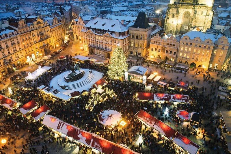 Mercado de Natal de Praga - República Tcheca