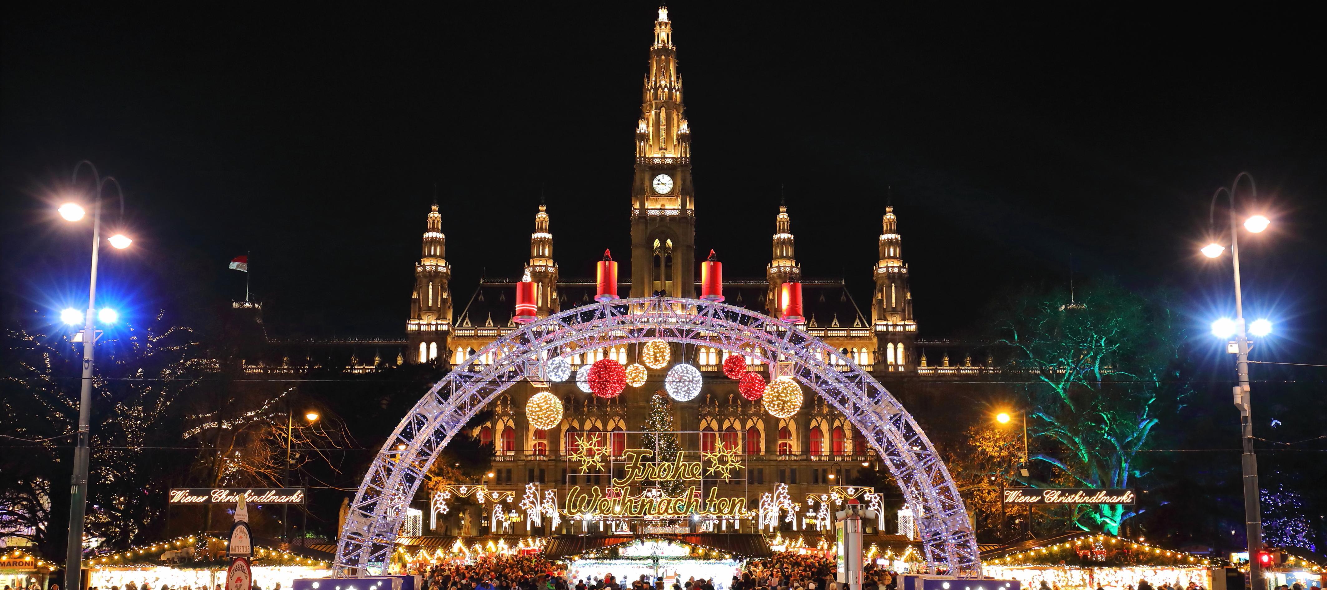 Mercados de Natal na Europa - Vienna - Austria
