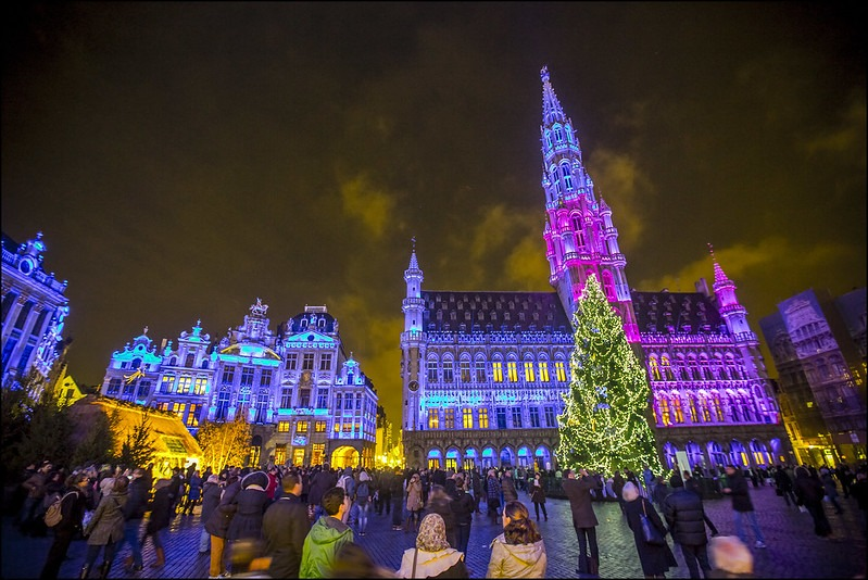 Mercados de Natal na Europa - Bruxelas - Belgica