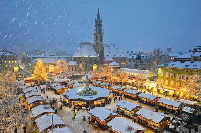 Mercado de Natal em Bolzano - Italia