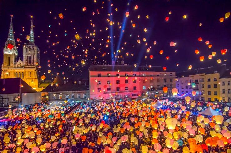 Mercados de Natal na Europa - Zagreb - Croacia