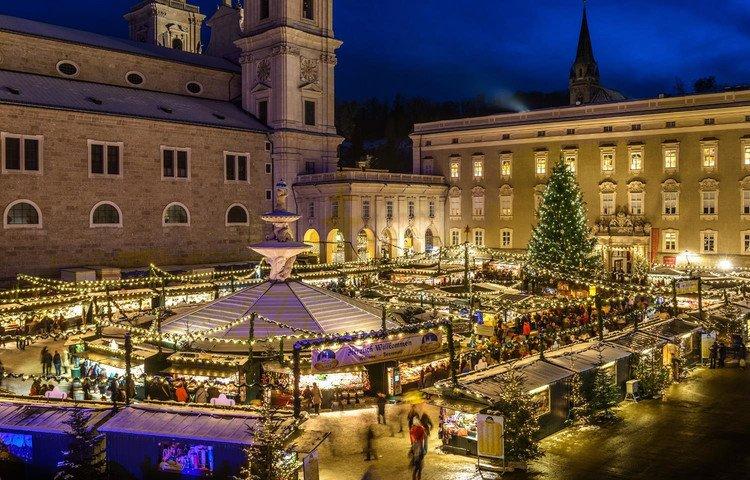 Mercado de Natal de Salzburgo - Austria