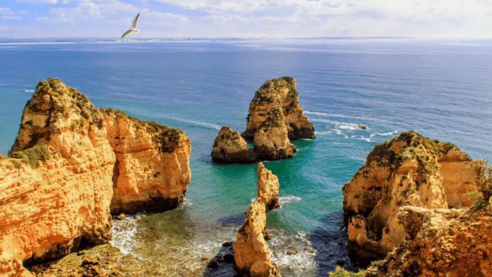Ponta da Piedade algarve Portugal 710x400 - Portugal: Roteiro no Algarve para 5, 6 ou 7 dias